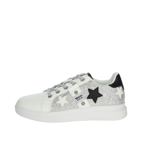Blauer Shoes Sneakers White/Gold S0JASMINE01