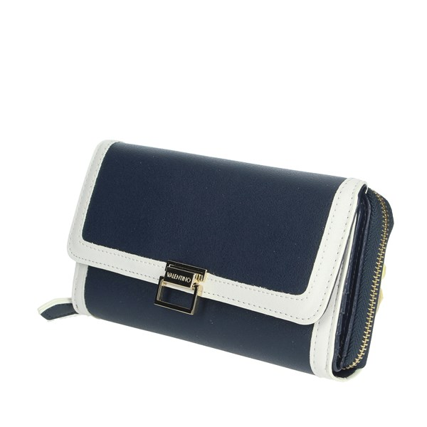 Valentino Mario Accessories Wallets Blue/White VPS3TX156