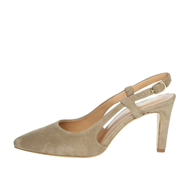 Elena Del Chio Shoes Pumps Brown Taupe 6006