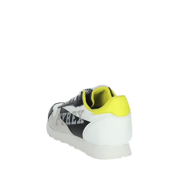 Pyrex Shoes Sneakers White/Black PY020235B