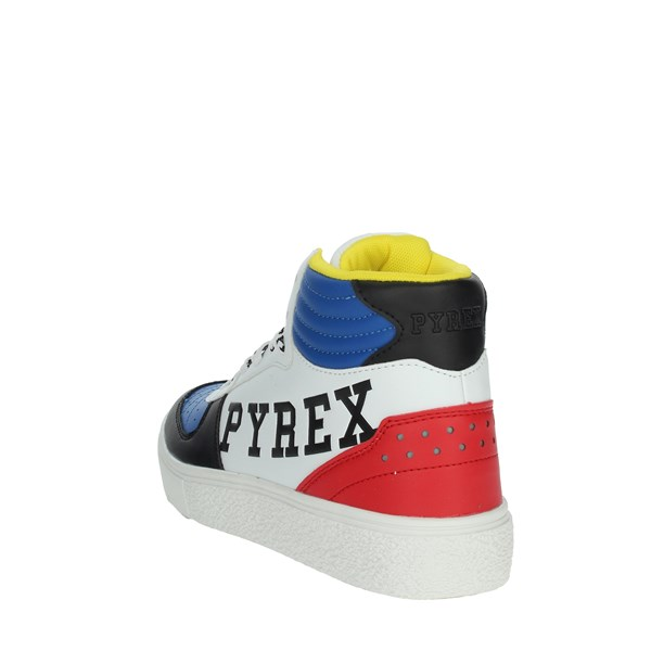 Pyrex Shoes Sneakers White/Blue PY020234