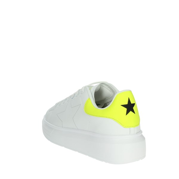Shop Art Shoes Sneakers White/Yellow/ Fluo SA020001