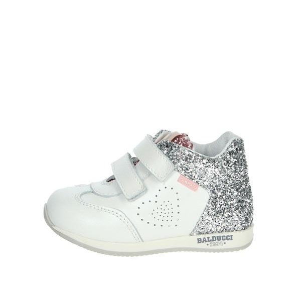 Balducci Shoes Sneakers White/Silver CSPORT3905