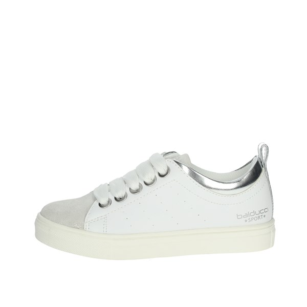 Balducci Shoes Sneakers White/Silver BS1264