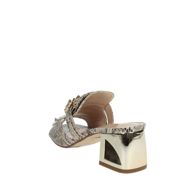 Laura Biagiotti Shoes Clogs Beige 6007