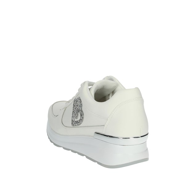 Laura Biagiotti Shoes Sneakers White/Silver 6104