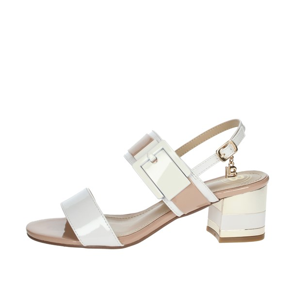 Laura Biagiotti Shoes Sandals WHITE / POWDER 6011