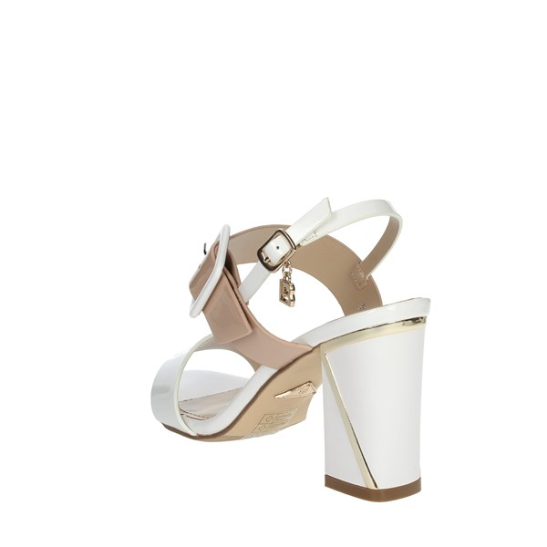 Laura Biagiotti Shoes Sandals WHITE / POWDER 6138
