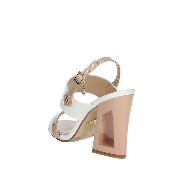 Laura Biagiotti Shoes Sandals WHITE / POWDER 6296