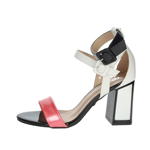 Laura Biagiotti Shoes Sandals Black/White 6304