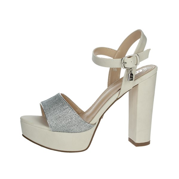 Laura Biagiotti Shoes Sandals Creamy white 6117