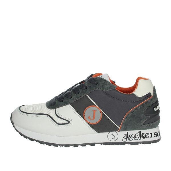 Jeckerson Shoes Sneakers White/Grey JHPD019