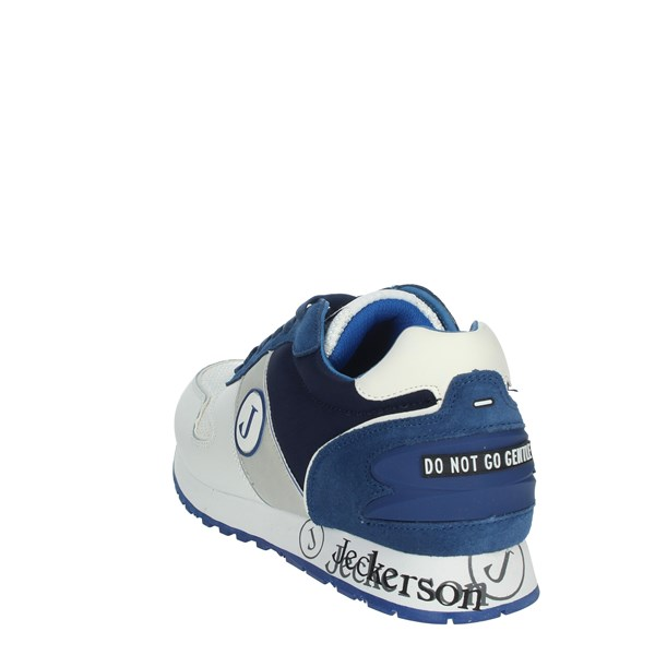 Jeckerson Shoes Sneakers White/Blue JHPD019