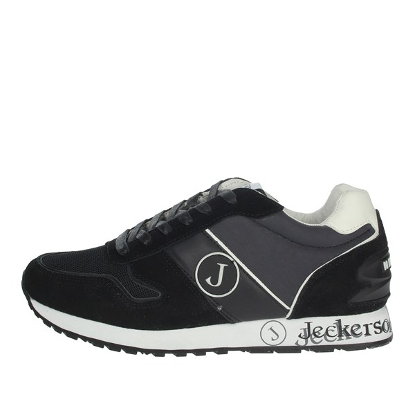 Jeckerson Shoes Sneakers Black JHPD016