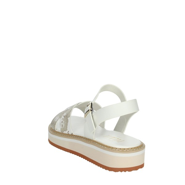 Alviero Martini Shoes Sandals White/beige 0591-0326