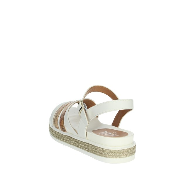 Alviero Martini Shoes Sandals White/beige 0583-0326
