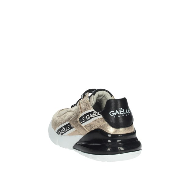 Gaelle Paris Shoes Sneakers Gold G-180