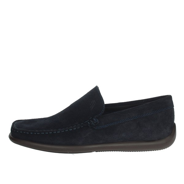 Frau Shoes Moccasin Blue 1464