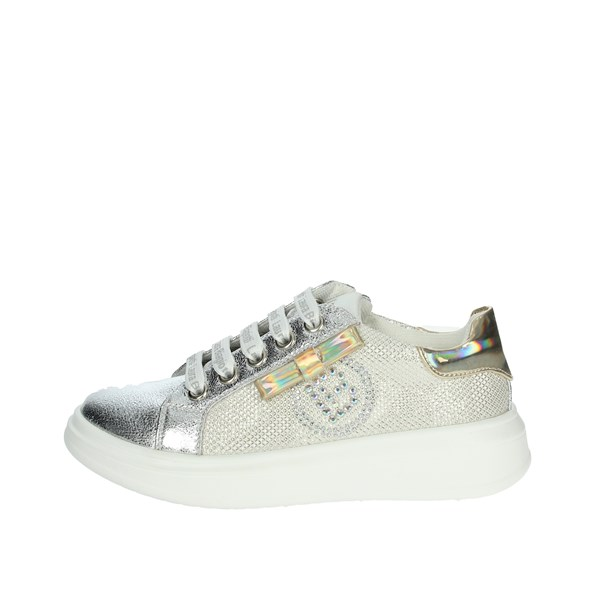 Laura Biagiotti Dolls Shoes Sneakers SILVER / GOLD 6081