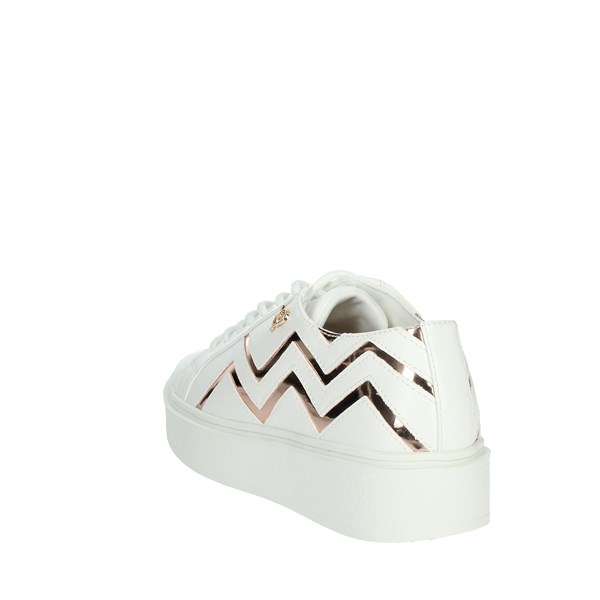 Roccobarocco Shoes Sneakers WHITE / POWDER RBSC3WL02