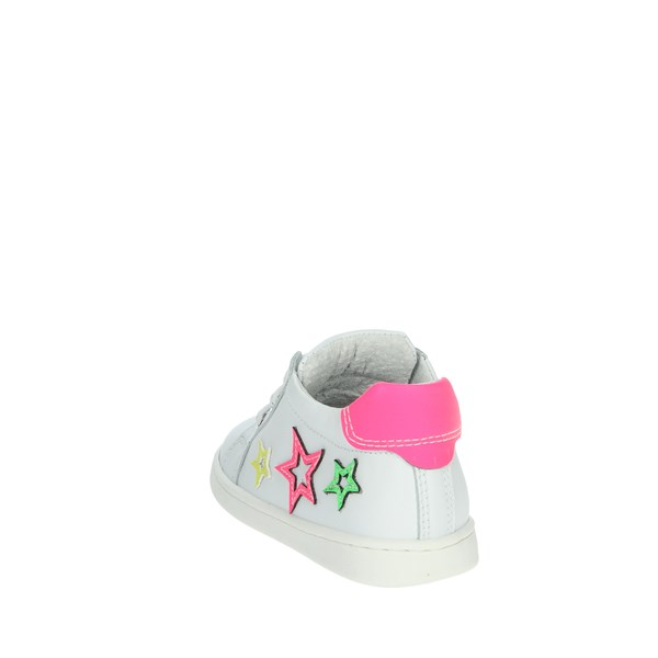 Nero Giardini Shoes Sneakers White/Fuchsia E018121F