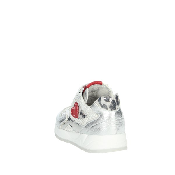 Nero Giardini Shoes Sneakers White/Silver E021400F