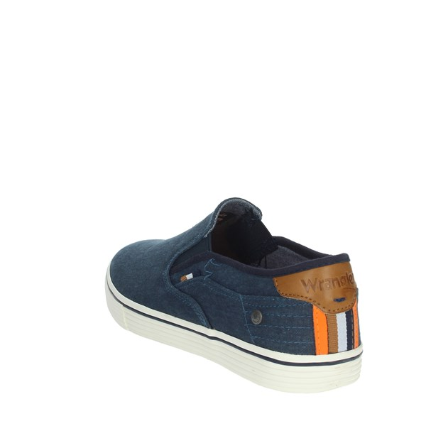 Wrangler Shoes Sneakers Blue WM01041A