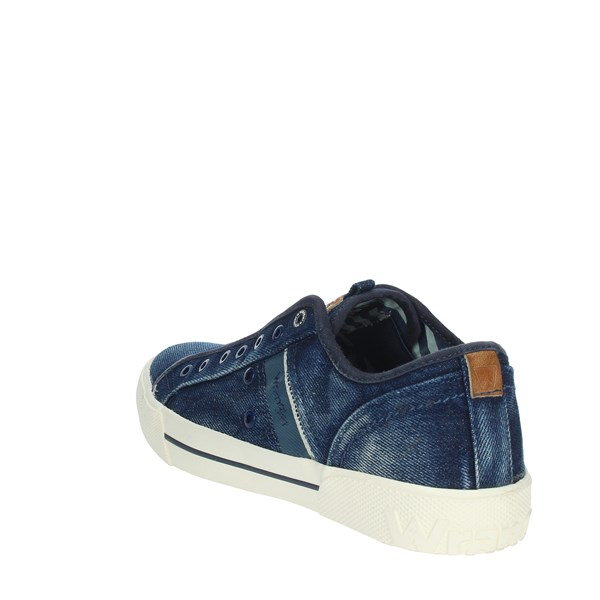 Wrangler Shoes Sneakers Blue WM01050A