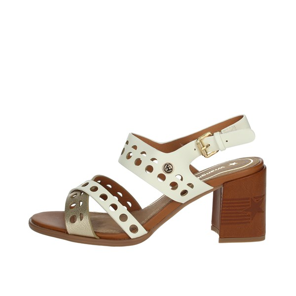 Wrangler Shoes Sandals White/Gold WL01572A
