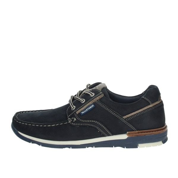 Valleverde Shoes Comfort Shoes  Blue 13821