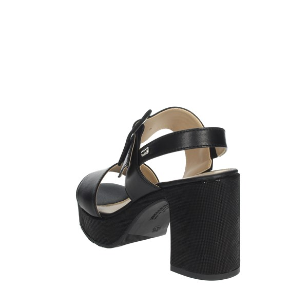 Valleverde Shoes Sandals Black 32501