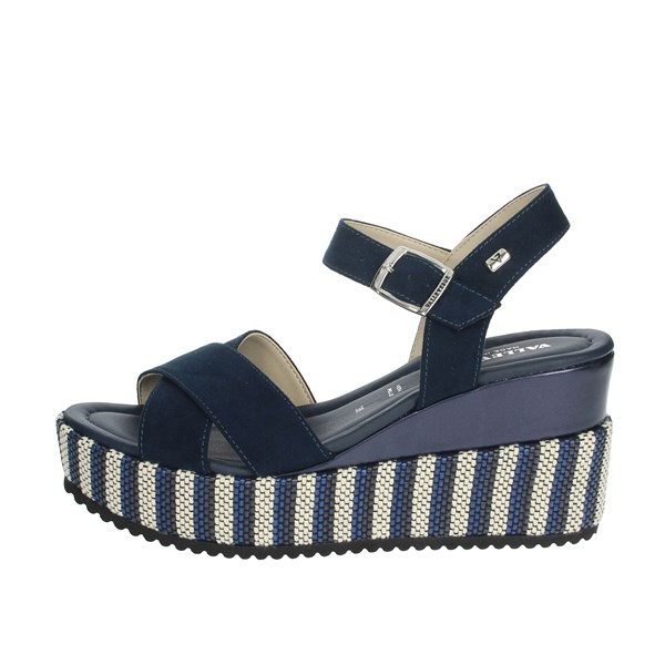 Valleverde Shoes Sandals Blue 32435