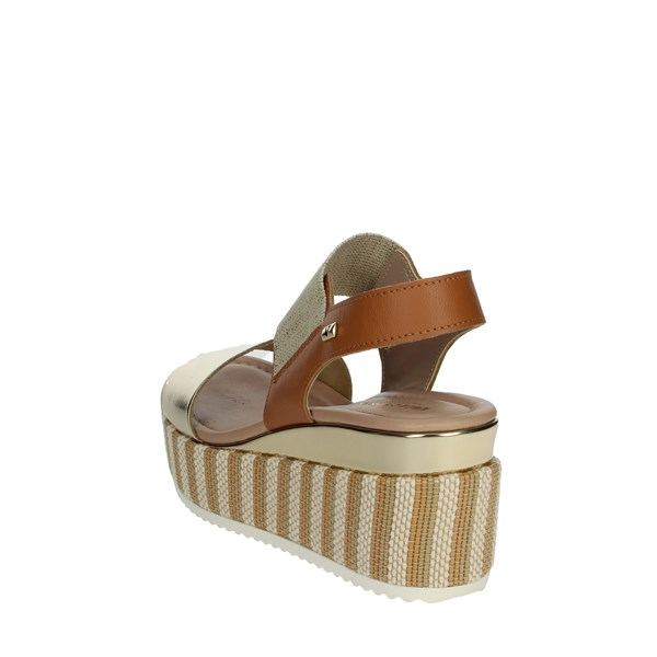 Valleverde Shoes Sandals Platinum  32430