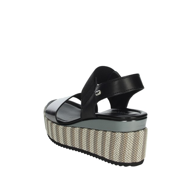Valleverde Shoes Sandals Charcoal grey 32430