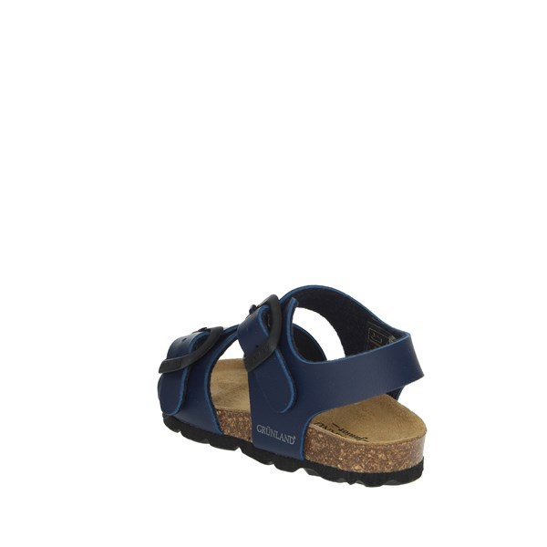 Grunland Shoes Sandal Blue SB0027-40