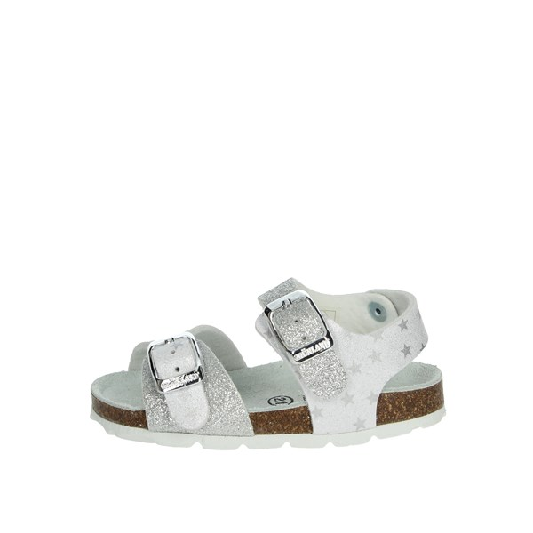 Grunland Shoes Sandal White/Silver SB1540-40