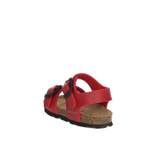 Grunland Shoes Sandal Red SB0027-40