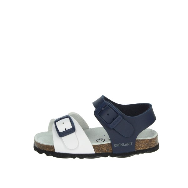 Grunland Shoes Sandal White/Blue SB0027-40