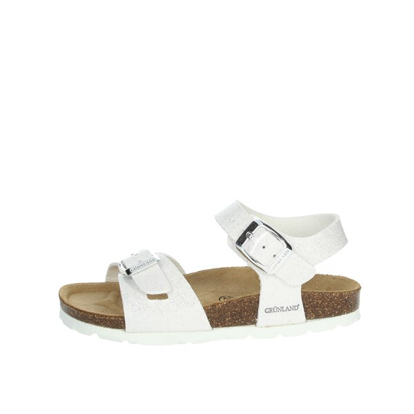 Grunland Shoes Sandals White/Silver SB1208-40