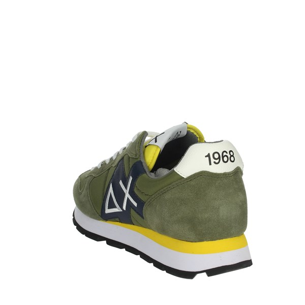Sun68 Shoes Sneakers Dark Green Z30110