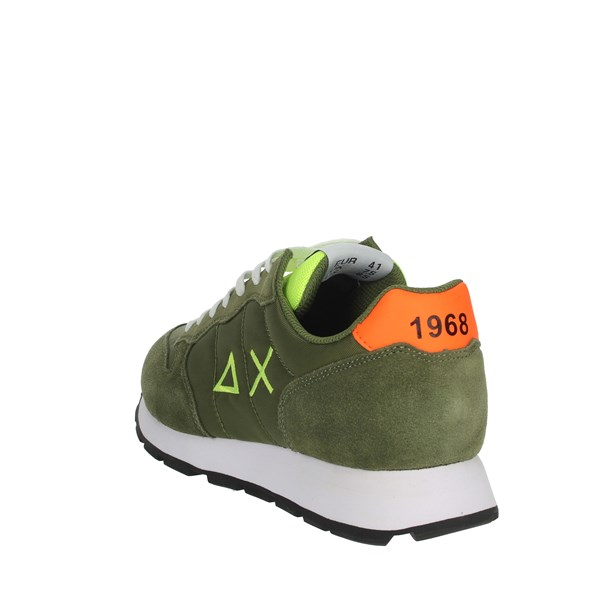 Sun68 Shoes Sneakers Dark Green Z30104