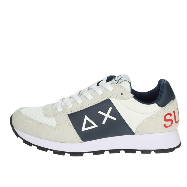 Sun68 Shoes Sneakers White/Blue Z30107