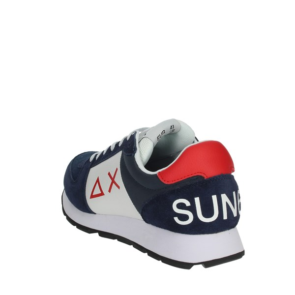 Sun68 Shoes Sneakers Blue/White Z30107