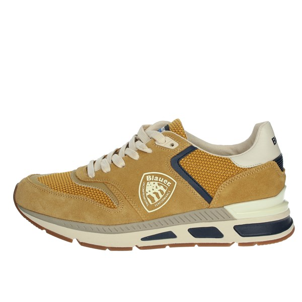 Blauer Shoes Sneakers Mustard S0HILO01