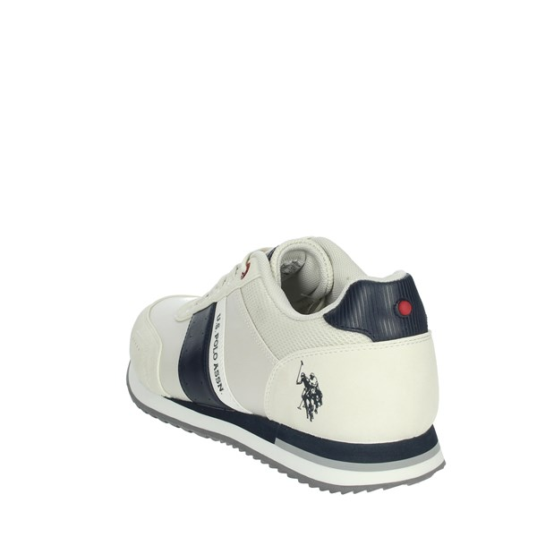 U.s. Polo Assn Shoes Sneakers White/Blue XIRIO4121S0