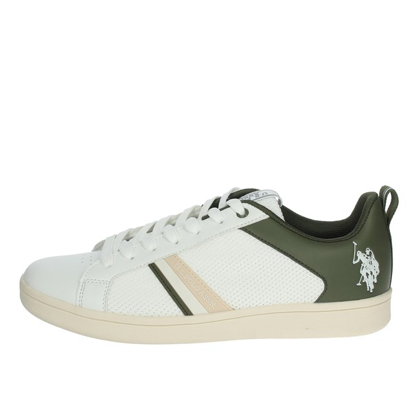 U.s. Polo Assn Shoes Sneakers White/Green ALCOR4134S0