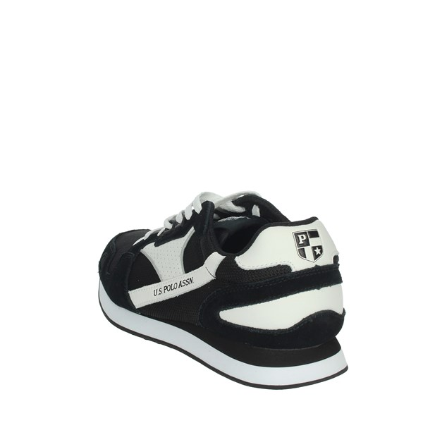 U.s. Polo Assn Shoes Sneakers Black/White FLASH4117S0