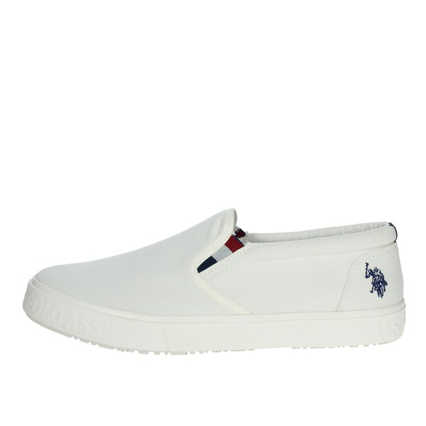 U.s. Polo Assn Shoes Sneakers White MARCS4079S0
