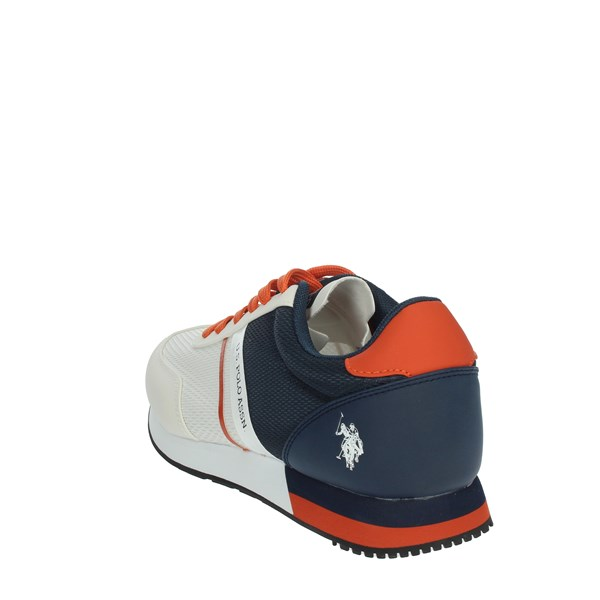 U.s. Polo Assn Shoes Sneakers White/Blue WILY4127S0