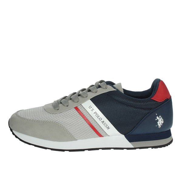 U.s. Polo Assn Shoes Sneakers Grey/Blue WILY4127S0